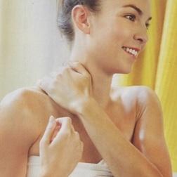 Ayurveda oil self-massage