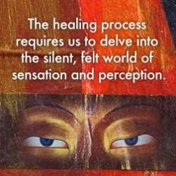 sensation and healing