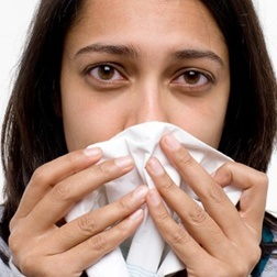 Acupressure for flu and colds